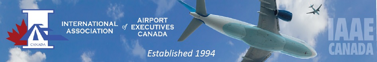 IAAE Canada Airport Training Banner